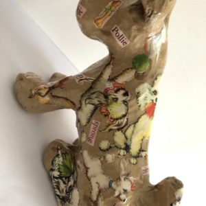 Decoupage Dog