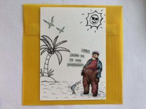 Pootjebaden envelop